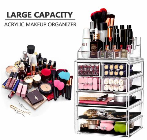 BELANT Makeup Organizer with Bigger