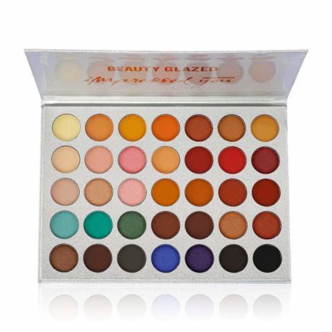 Beauty Glazed Eyeshadow Palette Pigmented Color