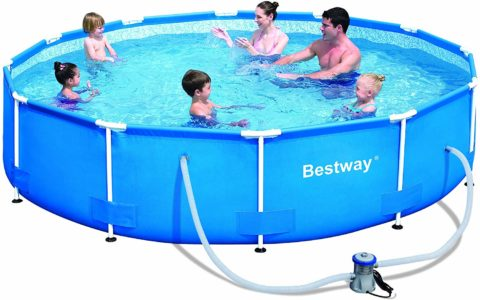 Bestway 56061US Steel Pro Above Ground Pool,
