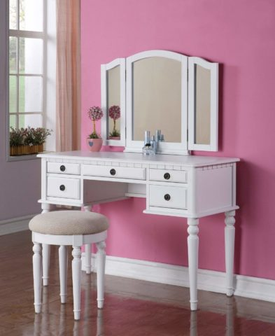 Bobkona F4074 St. Croix Collection Vanity Set