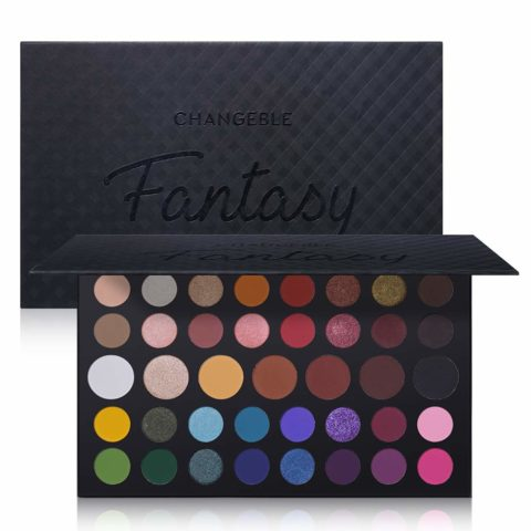 CHANGEABLE Pro 39 Colors Eyeshadow Palette