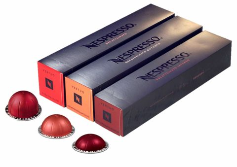 [European Version] Nespresso VertuoLine Decaffeinated