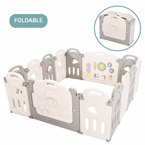 Fortella Cloud Castle Foldable Playpen