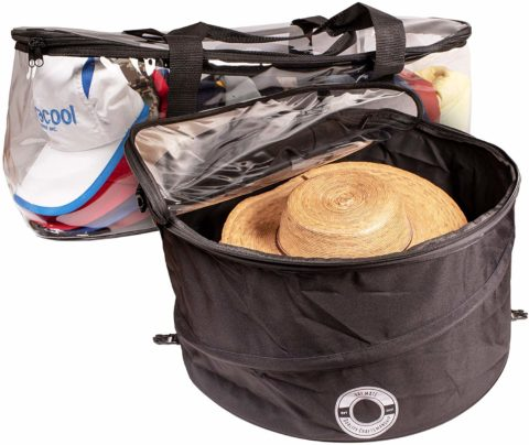 Hat Mate Premium Hat Pop up Storage Free Cap Storage Bag