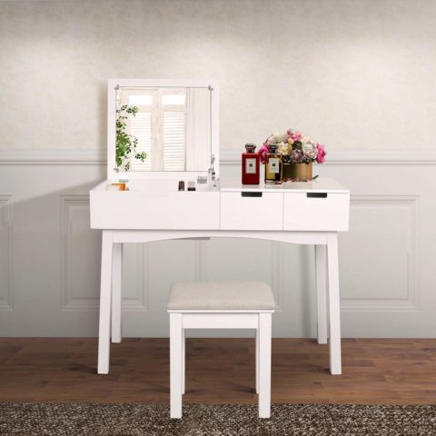 JIASTING Vanity Beauty Station