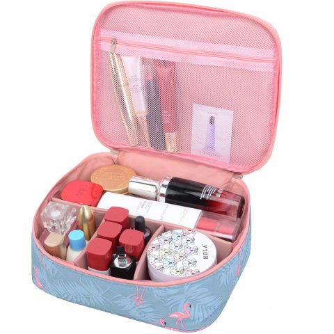 MKPCW Portable Travel Makeup Cosmetic Bag