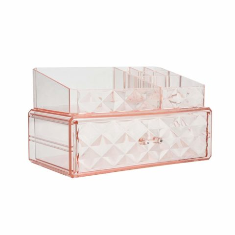 Makeup Organizer Acrylic Cosmetic Storage Drawer