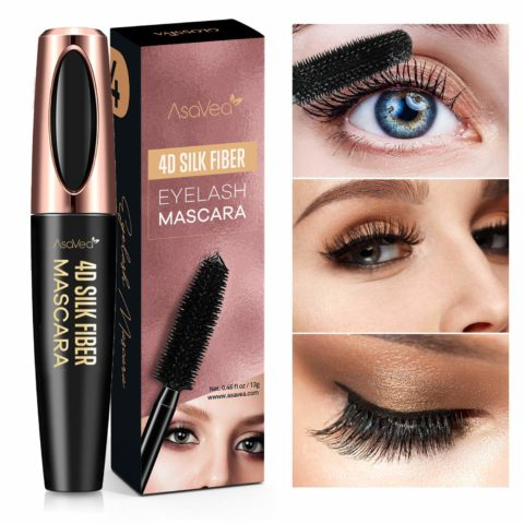 Natural 4D Silk Fiber Lash Mascara, Lengthening and Thick