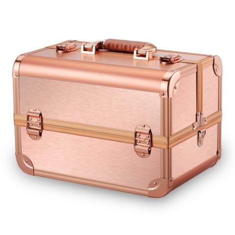 Ovonni Professional Portable Makeup Train Case