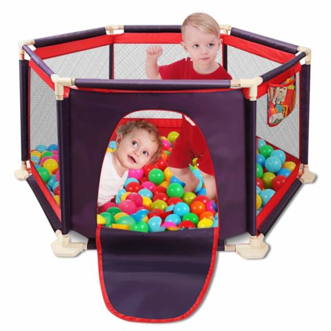 Portable Safety Kids Playpen Lightweight