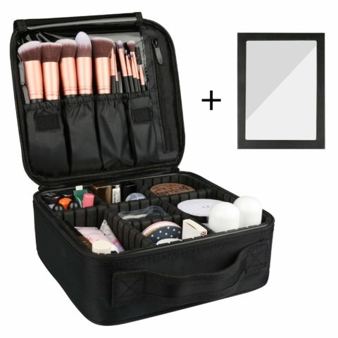 Rosmax Travel Makeup Case,Portable
