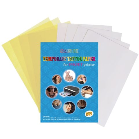 SANGI Temporary Tattoo Paper For Inkjet Printer Printable Custimized