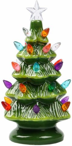Sunnyglade 9.1 Ceramic Christmas Tree Tabletop