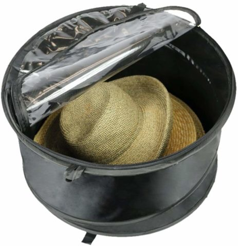 The Elixir Deco Premium Hat Pop up Storage Bag