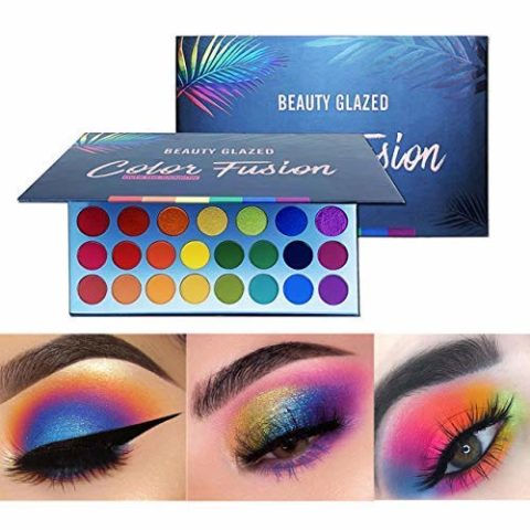 eauty Glazed High Pigmented Makeup Palette Easy