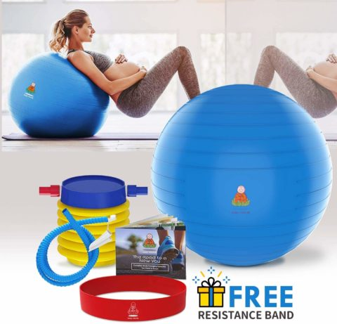 Lazy Monk Exercise Ball 21.5 & 25.5 inch