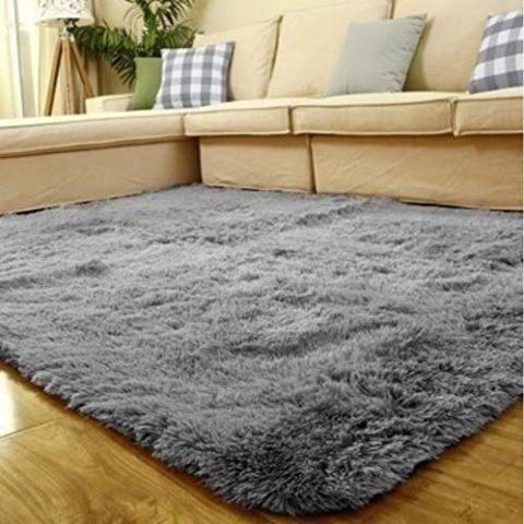 ACTCUT Super Soft Indoor Modern Shag Area Silky Smooth Fur Rugs Fluffy Rugs Anti