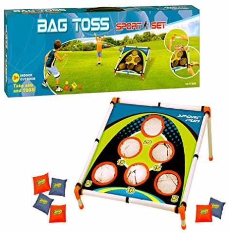 Adorox Bean Bag Toss Game Set Sporty