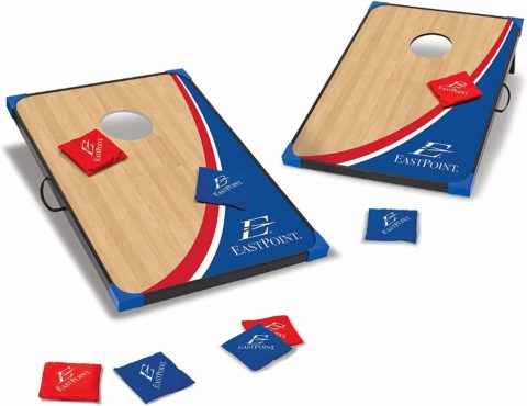 EastPoint Sports Cornhole Game Set Bean Bag Toss MDF