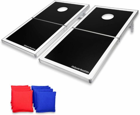 GoSports Cornhole PRO Regulation Size Bean Bag Toss Game