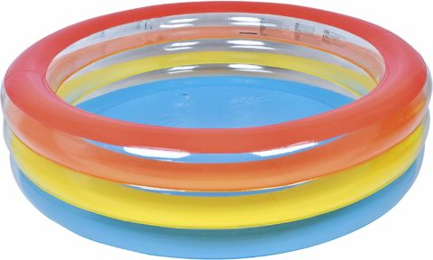 Jilong Inflatable Ribbon Kiddie Pool for Ages