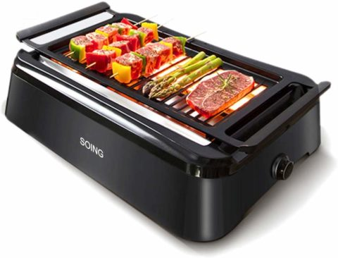 SOING,Advanced Smokeless Indoor Grill