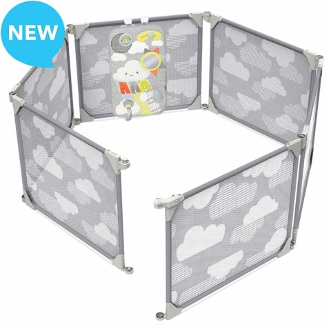 Skip Hop Baby Playpen Expandable or Wall Mounted Play Yard