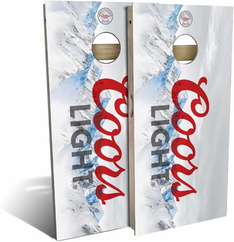 Slick Woody'S Coors Light Cornhole Set
