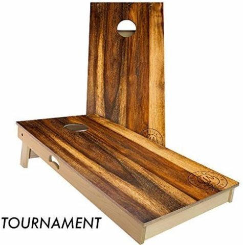 Slick Woody'S Treated Oak Cornhole Set