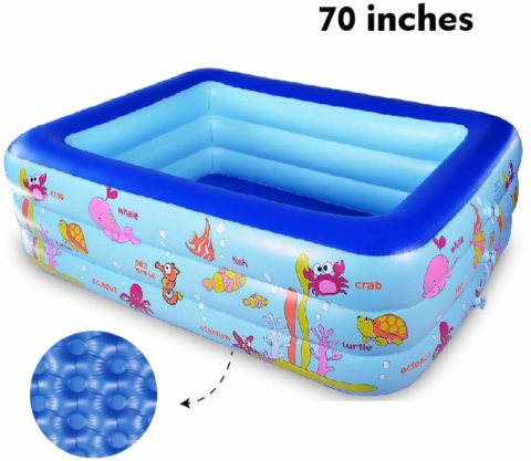 WateBom Inflatable Family Swimming Center Pool