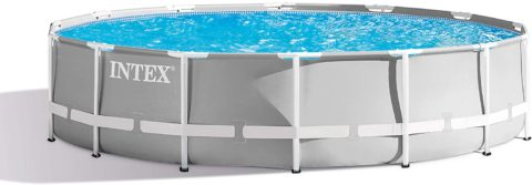Intex 14ft X 42in Prism Frame Pool Set with Filter Pump
