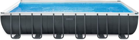 Intex 24ft X 12ft X 52in Ultra XTR Rectangular Pool Set