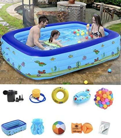Swimming Pools Swim Center Clearview Aquarium Inflatable Pool